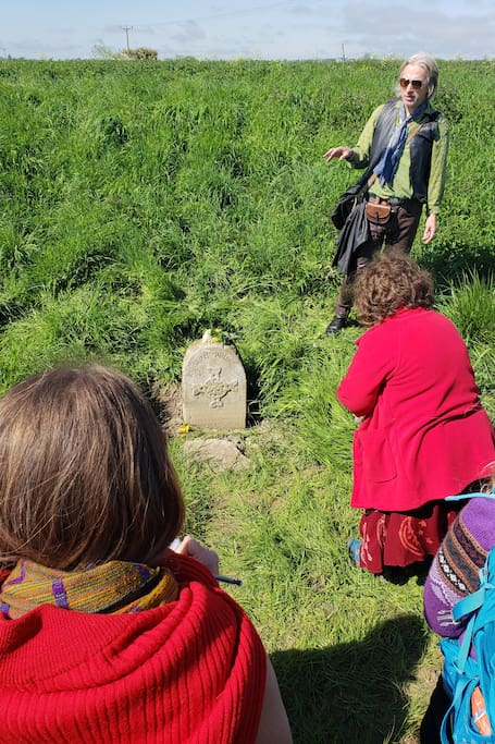Bardic storytelling in situ a speciality