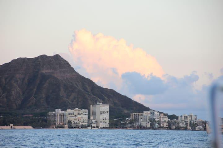On Waikiki's Gold Coast