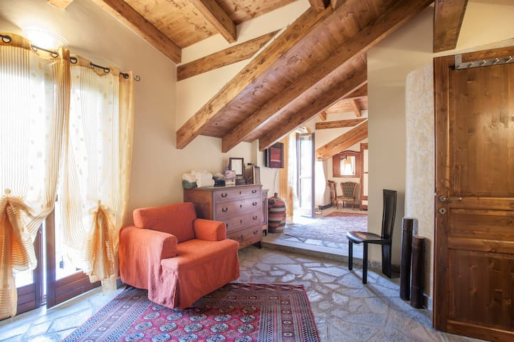 Appartamento in #villa vista Langhe - Bubbio - Lägenhet