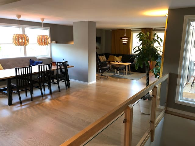 Family friendly house w/garden 20 min from Oslo