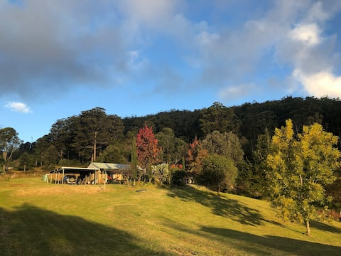 Sandstone mountain cottage, pets welcome