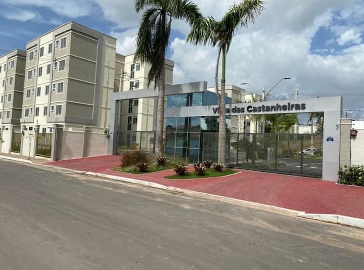 Castanheiras apto101-Entre Aeroporto e Ponta Negra