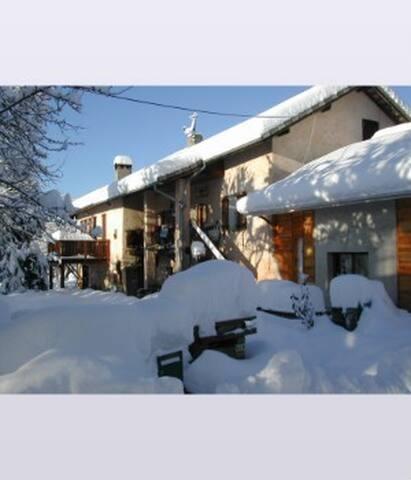 Maison de caractère en montagne - Selonnet - Haus