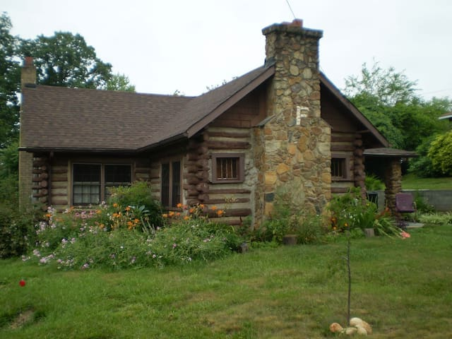 Fishel Cottage ~ historic log cabin