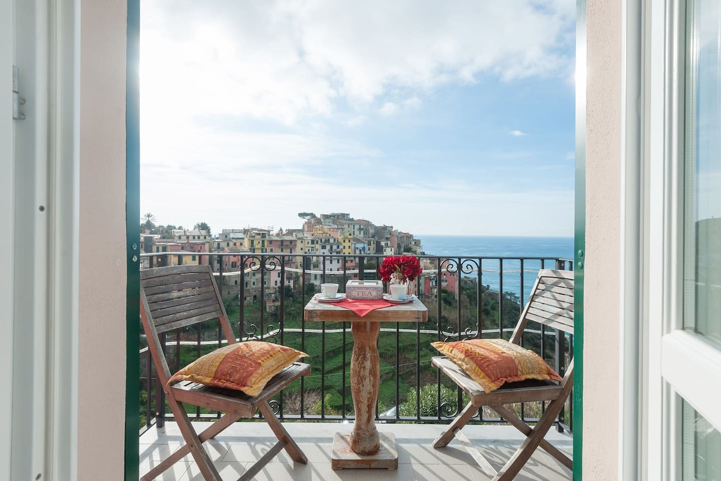 little private balcony where is possible to drink and admire the beautiful view