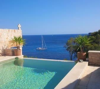 Unique waterfront hideaway/ Cala Santanyi/ Majorca