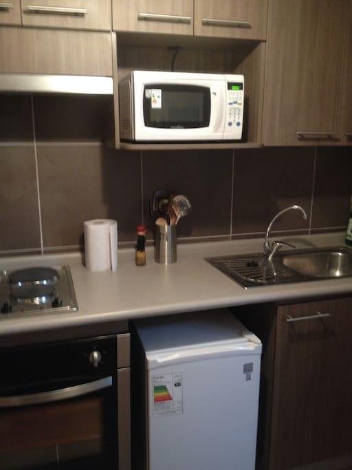 Hermosa cocina, equipada y muy funcional