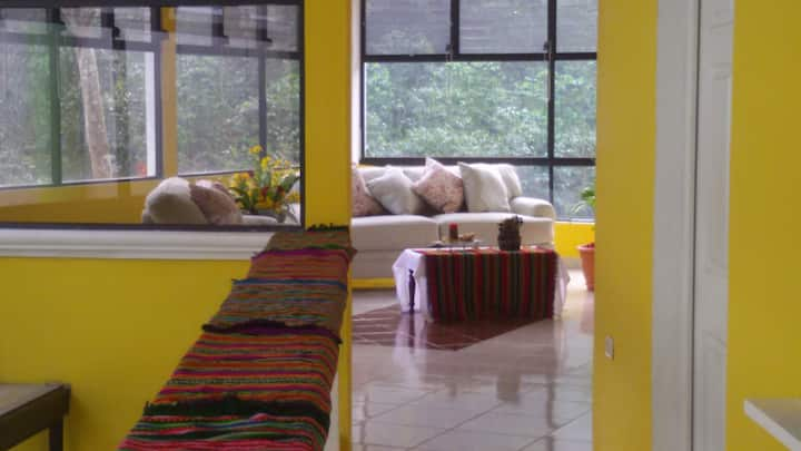 Amazing room in a coffee plantation