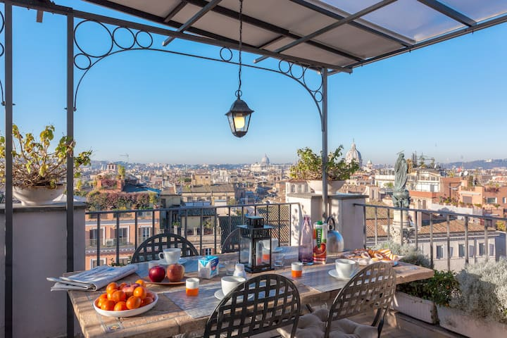 Flying Home at Spanish Steps - Roma - Apartamento