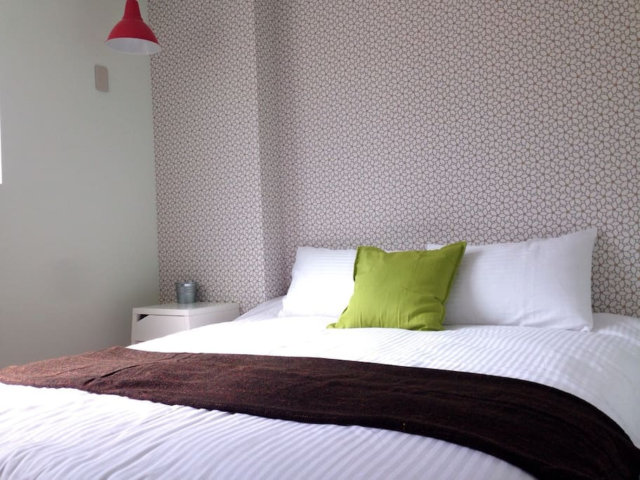 5F-D Double Room (Included private bathroom)