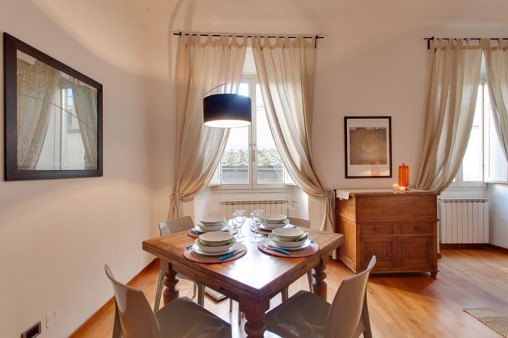 Borgo pinti spazioso 2 camere per 6 appartamenti in affitto a firenze toscana italia - Camere da letto firenze ...