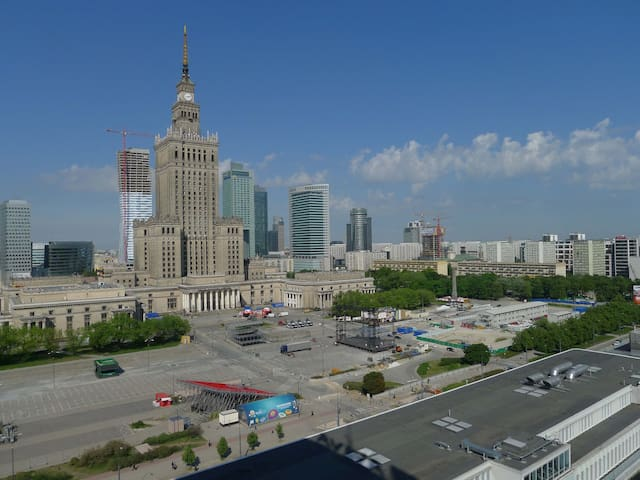 Amazing view in strict downtown!:-) - Warszawa - Apartment