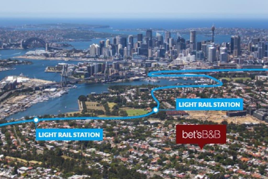 Bet's B&B - Just 3.5km from Sydney's CBD