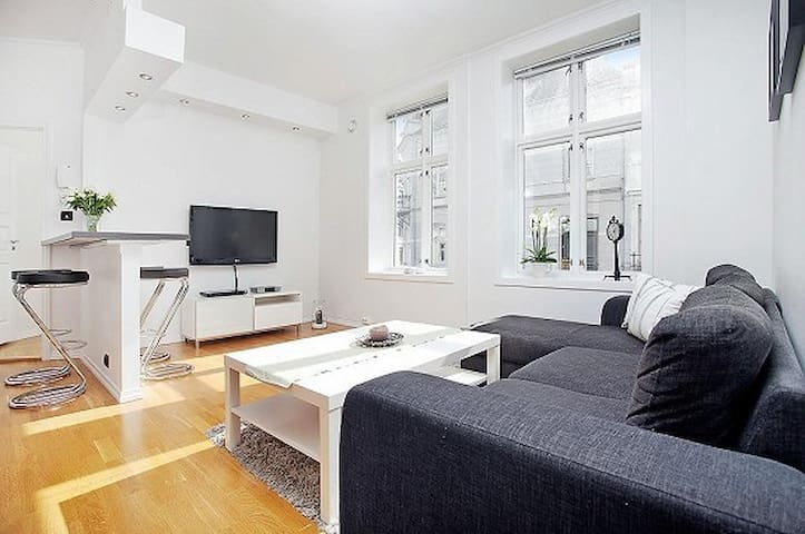 Modern apartment in the city center - Bergen - Apartamento