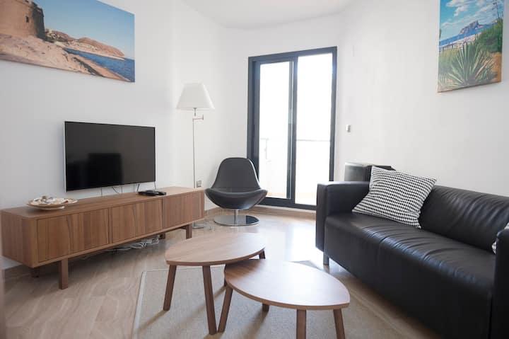 Appartement Moraira centre, pool, beach, wifi, AC