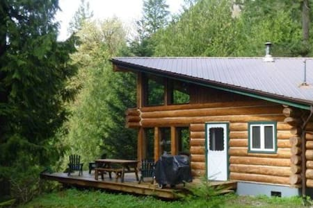 #97 -Log cabin at the lake, Pets ok - Maple Falls