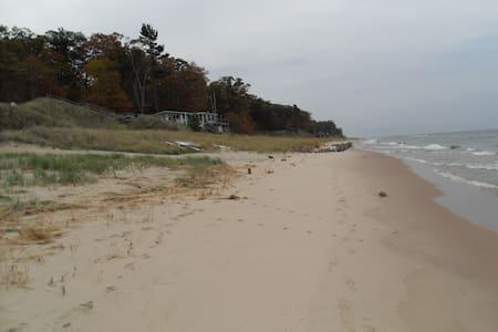 Sunset Beach #2 - Muskegon - Blockhütte