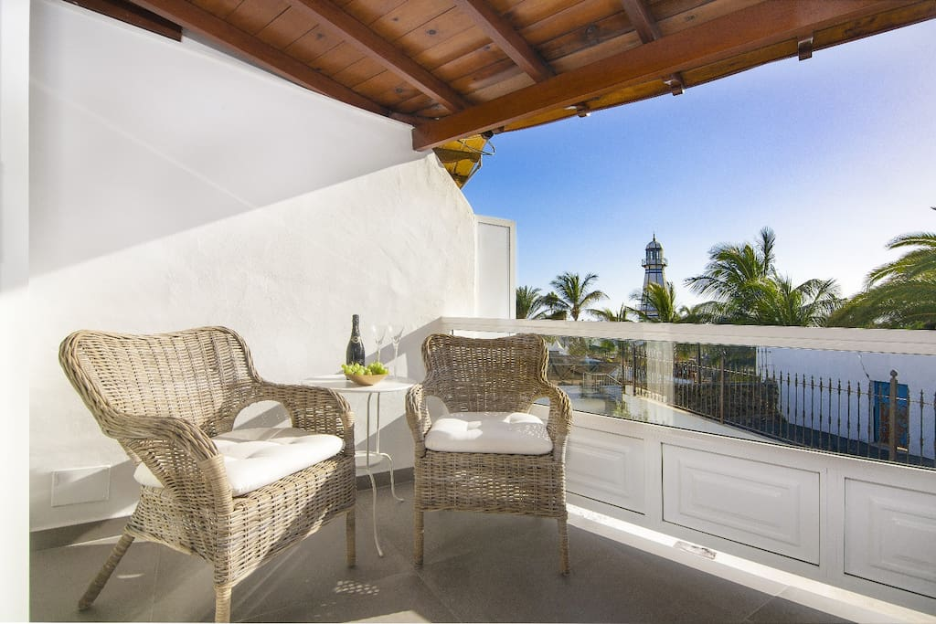 Terraza con vistas, ideal para tomar el sol