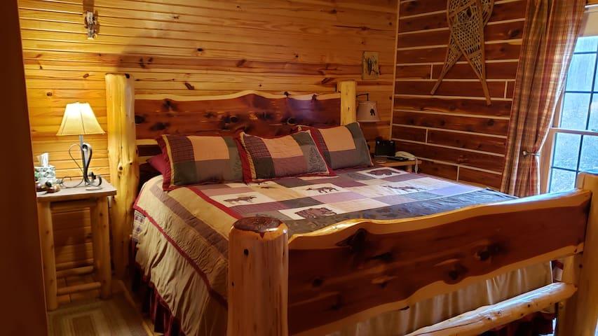 Main level Master King bed