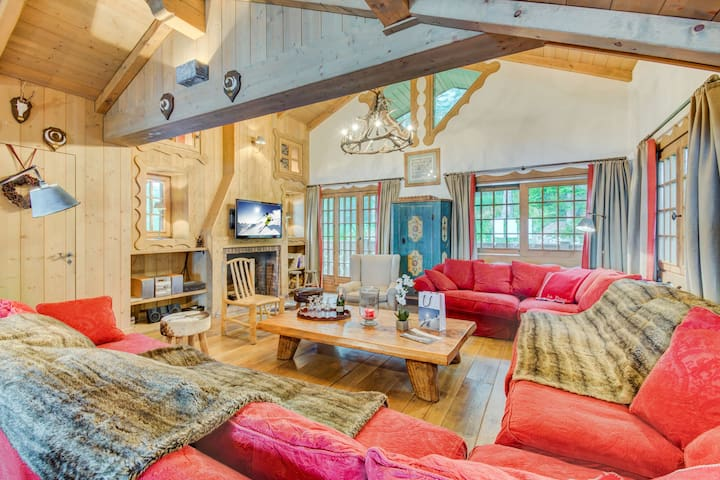 FORET - User-friendly chalet nearby slopes
