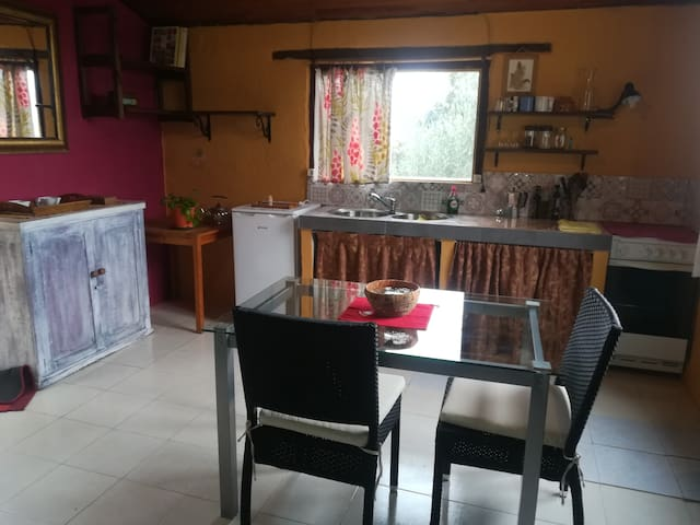 espacio de la cocina