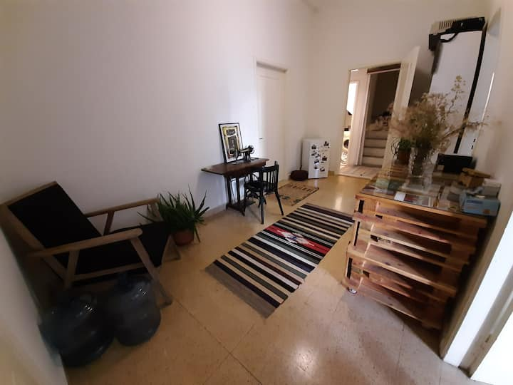 Room in a calm and cosy appartement and its garden