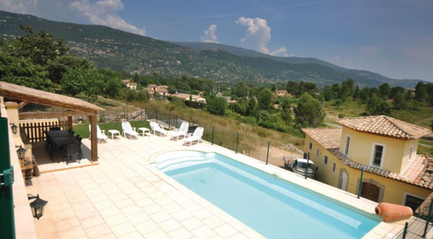Holiday rental with private pool - Le Tignet - Huis