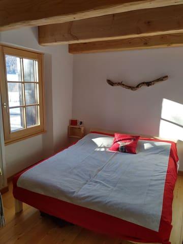 BEDROOM 1 with bed 160x200cm