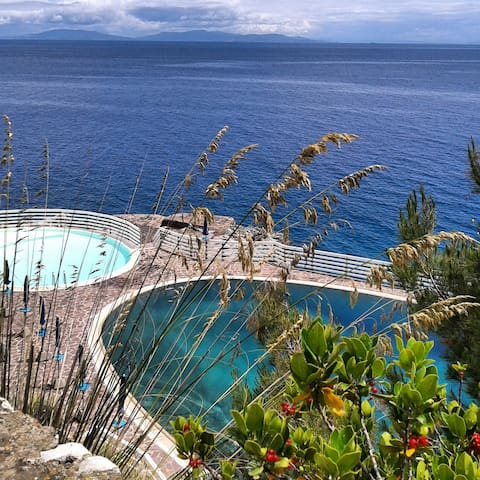 Elba Island by the sea and pool discount ship