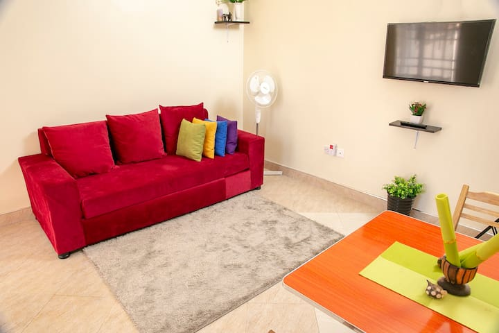 Ezer's apartment Bukoto, serene and accessible!