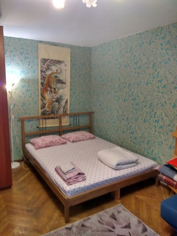 Уютная квартира у метро. Как дома.