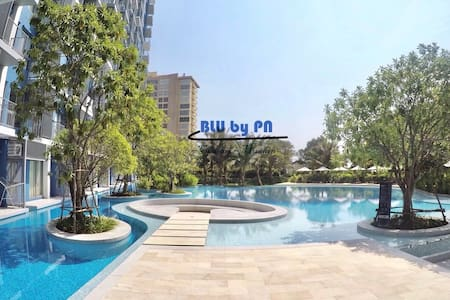 Stay BLU by pn 300m to beach ChaAm-HuaHin ชะอำ หัวหิน