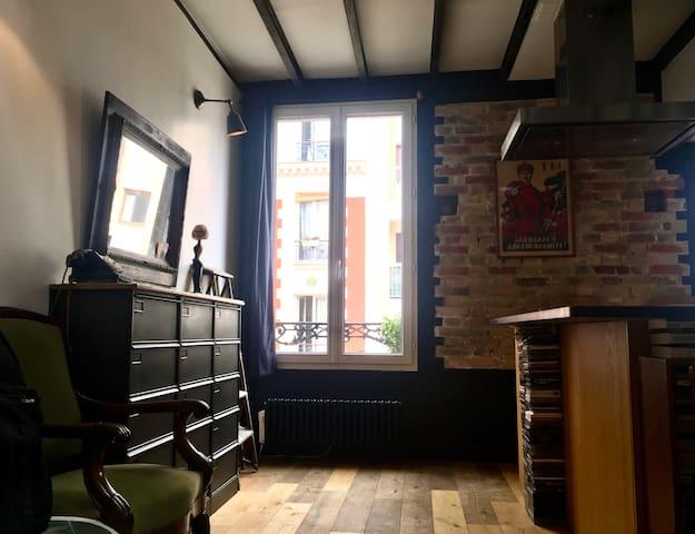 Loft typique parisien / Quartier des Epinettes