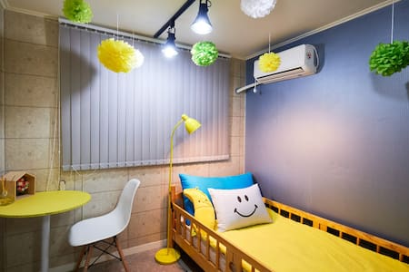 OPEN BIG SALE#1min*HONGDAE*COZY*single room - Mapogu - Appartement