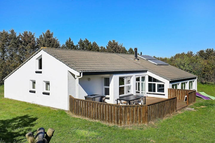 Garden-view Holiday Home in Jutland with Swimming Pool