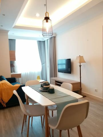 Comfy 1BR Apartment in Kuningan City