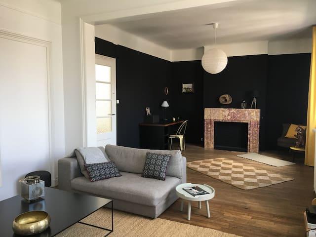 Vue de Toit, appartement ★★★★ de 130 m2 à Arras - Arras - Flat