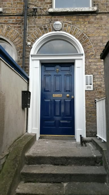 Main entrance off Rathmines Road Lower