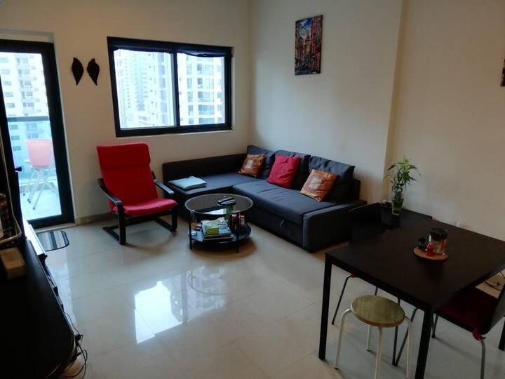 Full one bedroom apartment in Dubai Marina
