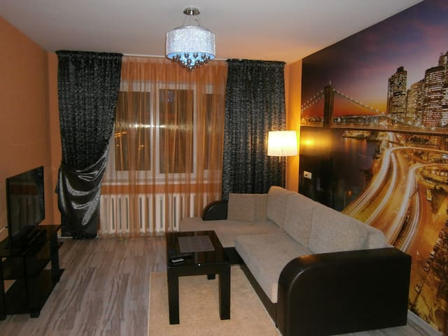 2-х комнатная квартира у Ледового Дворца