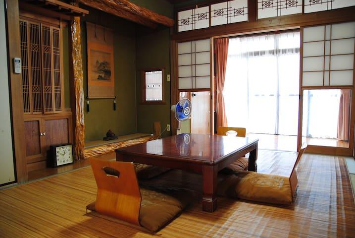 Traditional house near Kirishima Jingu station