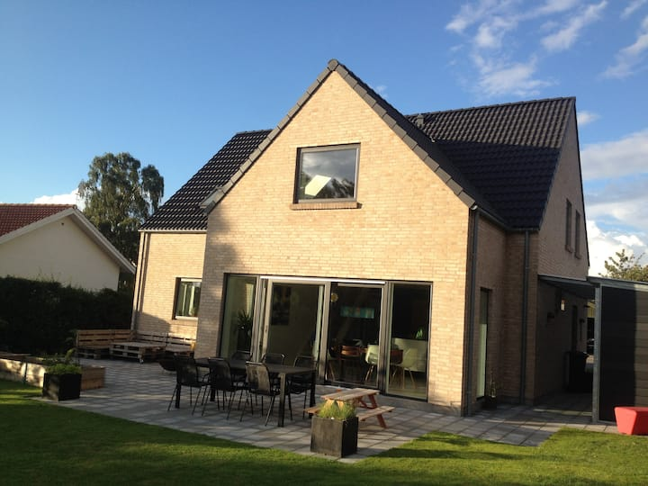 Lovely new house (210 m2) in central Roskilde