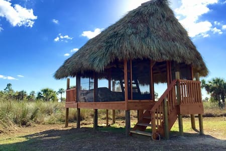 Safari Glamping Chickee Hut for 4 - Ochopee