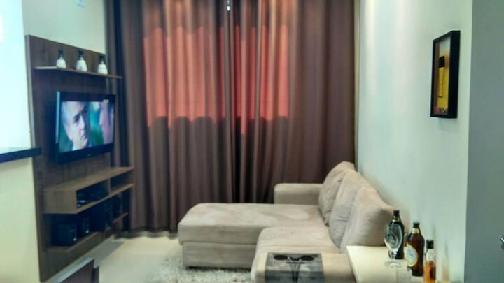 Apartamento a 30 min do Thermas dos Laranjais