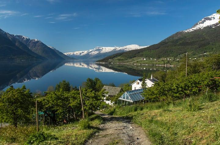 Leilighet på Kaland, Vallavik i Hardanger