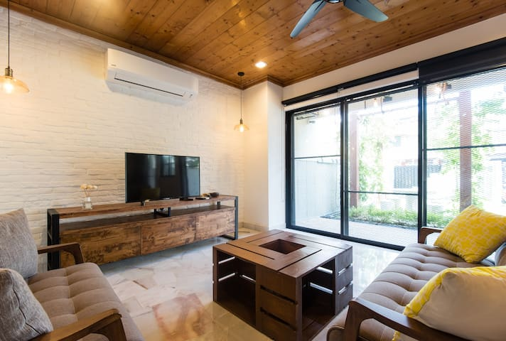 The Jati House - Modern industrial design@Sunway