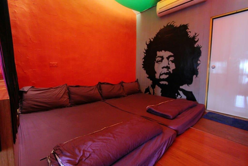 舒服的床墊配色