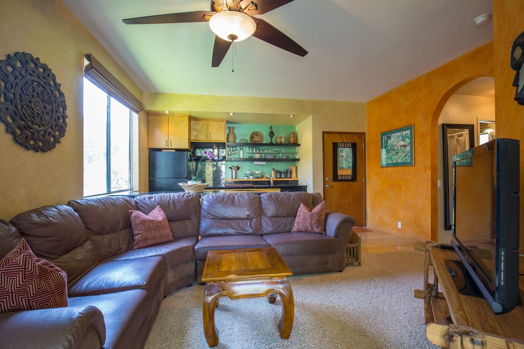 You will feel at home in our nicely decorated condo.