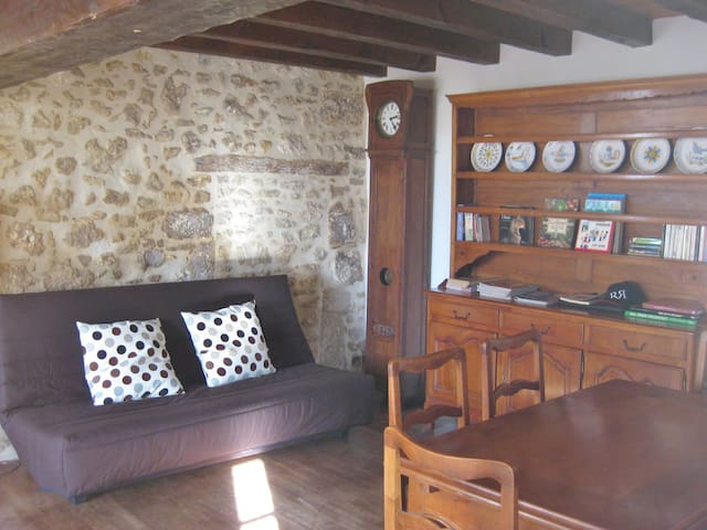 Charming  Holiday Cottage -  Blanzaguet-Saint-Cybard - House