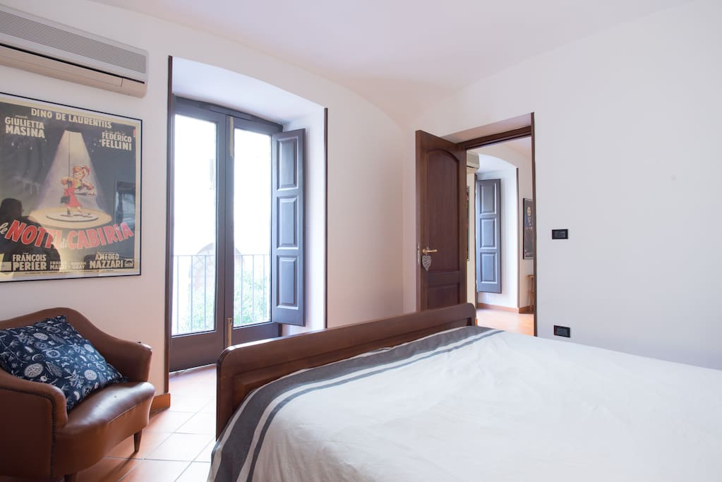 Camera da letto matrimoniale/Bedroom with double bed